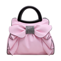 Flyone 2017 New Bow Fashion Handbags Sweet Lady Bag Ladies Bag Woman Bag Lady S Best
