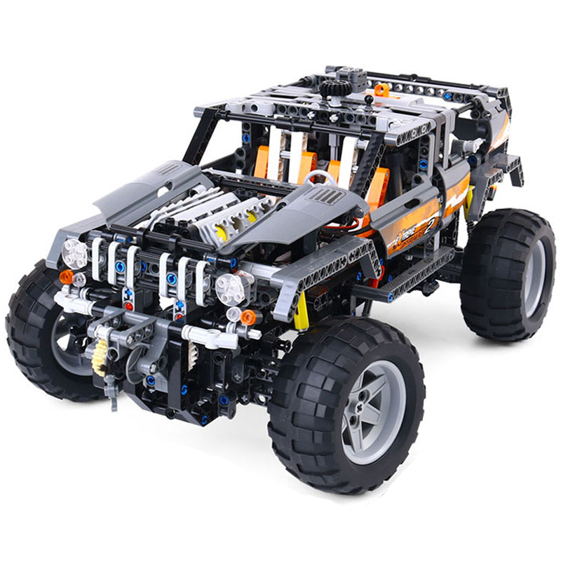 LEPIN 20030 640pcs Technic Series Ultimate Series The Off-Roader Set Model Building Block Diy Brick Toy For children Gift 8297 lepin 20076 technic series the mack big