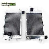 BIKINGBOY Engine Radiator Cooling For Aprilia Tuono 1000 2002 2003 2004 2005 Left Right Water Cooler Aluminium Alloy Core