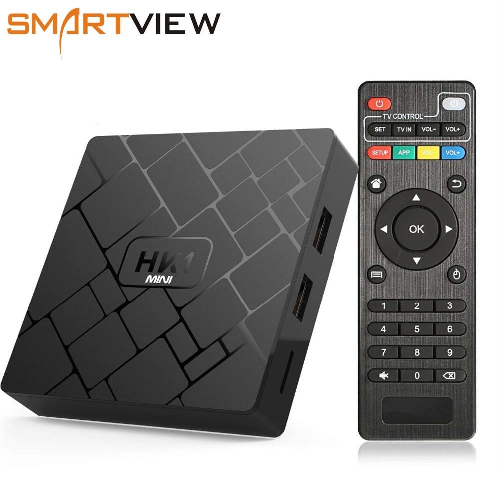 TV Box Android 8,1 Smart TV caja de RK3229 Quad Core 2 GB RAM 16 GB ROM H.265 HEVC 2,4g wifi 4 K HD reproductor de medios del magicsee n5 mx10