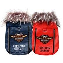"""Lovely """"Harley Davidson""""-style puppy Jacket / Vest"""