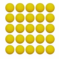100pcs Round Ball Bullets Refill Nerf Toy Gun Ball Dart For Nerf Outdoor Girls And Boys