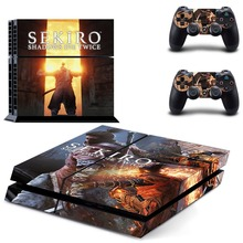 SEKIRO PS4 Vinyl Skin Sticker Cover for Playstation 4 System Console and Two Controllers