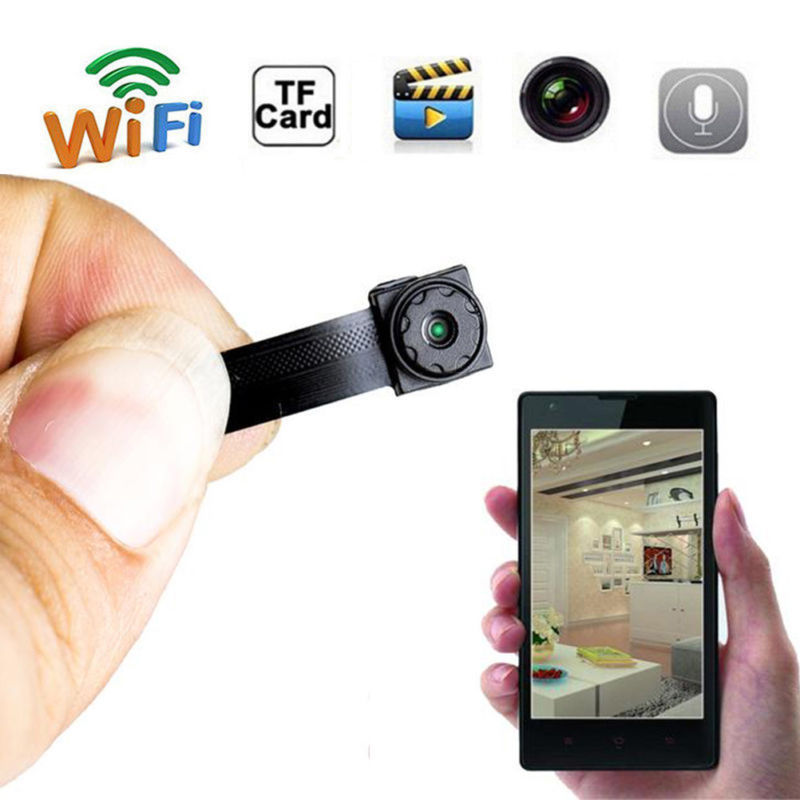 Wireless Tiny IP WIFI Mini DIY Audio Video Camera Micro DVR