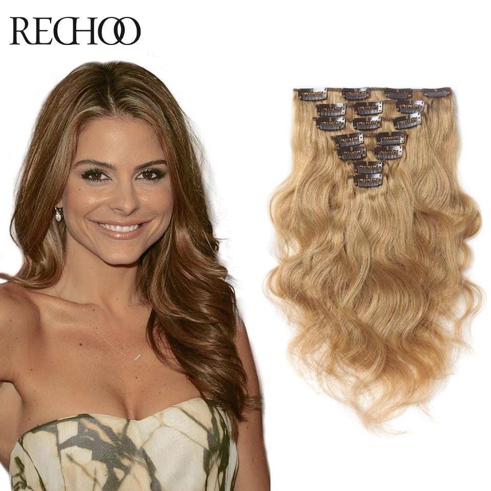 Real clip in hair extensions cheap images hair extension hair aliexpress buy clip in real human hair extensions blonde aliexpress buy clip in real human hair pmusecretfo Gallery