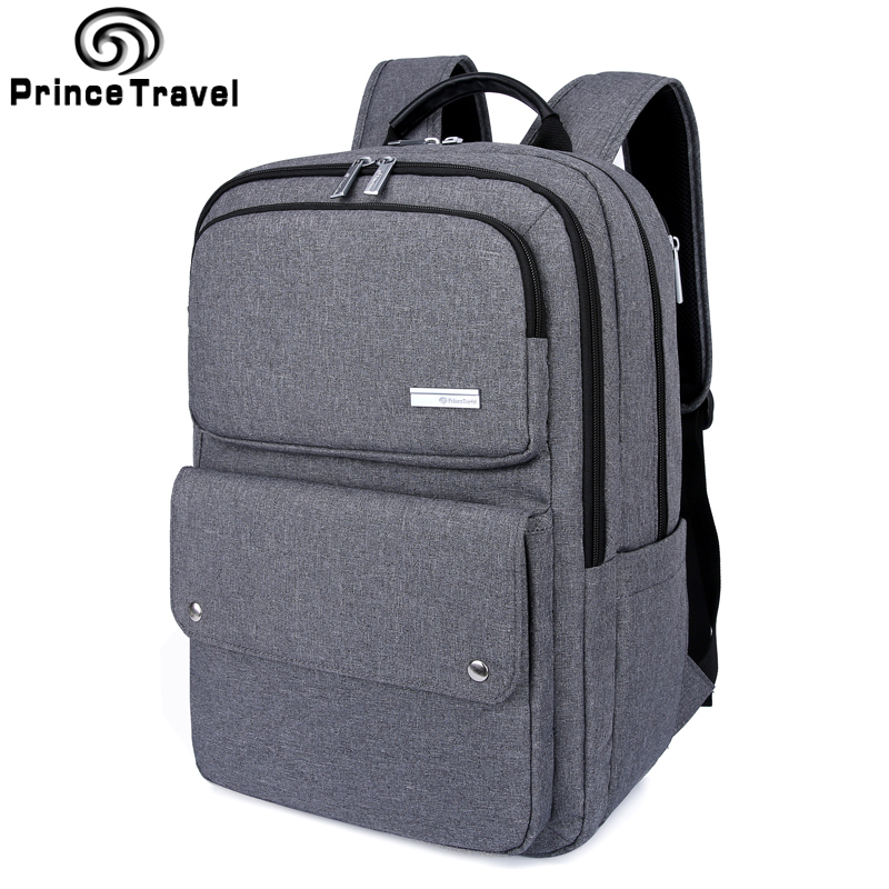 Prince Travel Capacity Men'S Backpack Oxford Business Backpack 15 16 Inch Laptop Backpacks Luggage Backpacks Travel Bag For Men