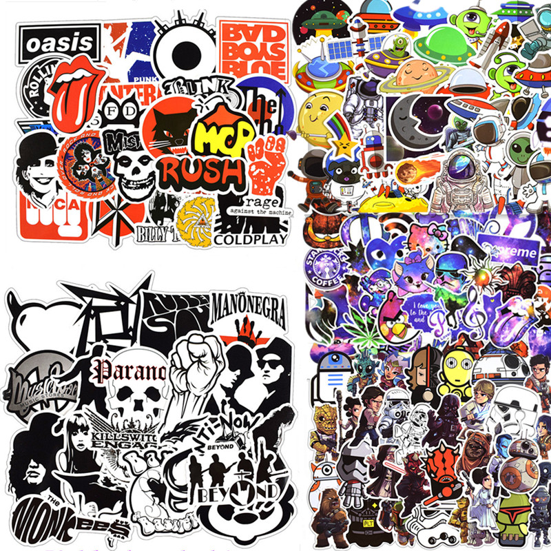 50 pcs/pack stickers Classic Fashion Style Graffiti Stickers For Moto car & suitcase cool laptop stickers Skateboard sticker цена