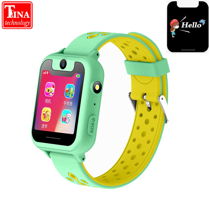 S10 Smart Kids Watch With GPS Tracker Baby Camera SOS Call back SIM Location Device for Baby Children Smart Watch IOS & Android