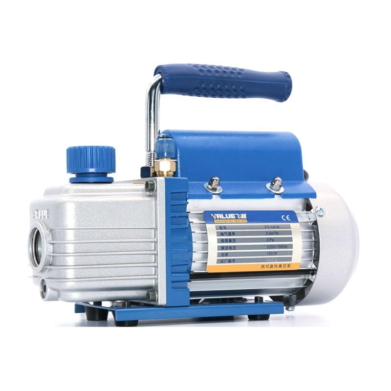 Original mini portable air vacuum pump FY-1H 2PA ultimate vacuum for Laminating Machine and LCD screen separator hot sell vacuum air pump mini vacuum pump for lcd separating machine laminating machine