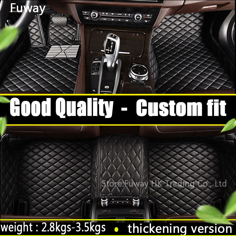 Good quality Custom car floor mats for Toyota camry in 2012-2017  car interior car accessorie car styling floor mat waterproof