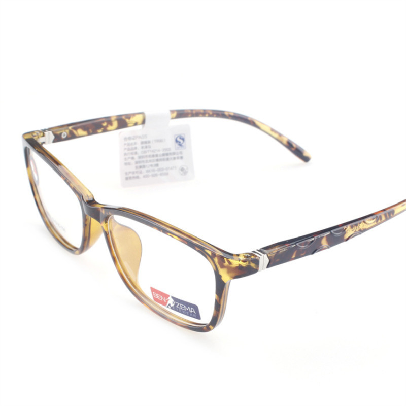 Fashion Classic TR90 glasses Round box Computer Reading Unisex Frames Eyeglasses Optical Woman man Prescription 002 in Men 39 s Eyewear Frames from Apparel Accessories