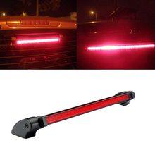 Bostar 24 led de alta montagem parar cauda traseira luz advertência da lâmpada do carro vermelho terceira 3rd luz freio estacionamento