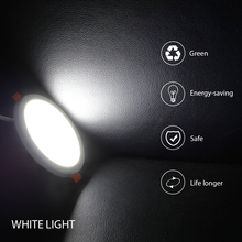 20W Led Panel Light Surface Mounted Round/Square Downlight Indoor Lighting AC220V With Led Driver
