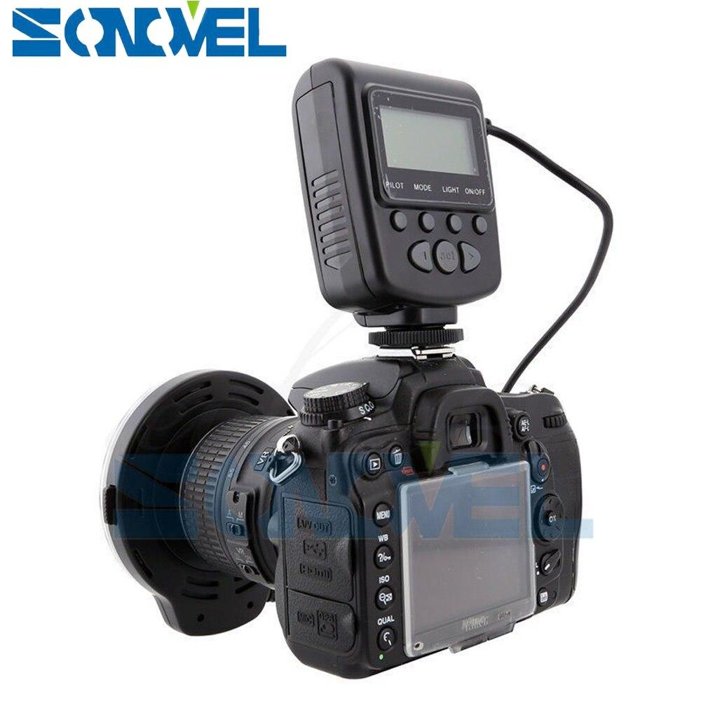 Meike LED Flash D'anneau Macro Lumière FC-110 pour Canon EOS 80D 77D 60D 7D 6D 5Ds 5D Mark IV 1300D 800D 760D 750D 700D 650D 600D - 5