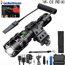 70000LM Led flashlight Most powerfull torch L2 Tactical light 5Mode Scout Light LED lanterna Bicycle Light by 18650 battery z55(China)