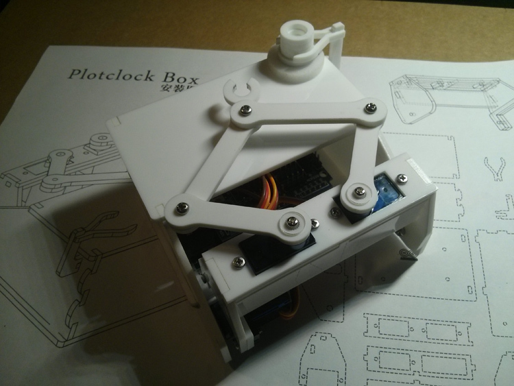 Kits de bricolage robot horloge