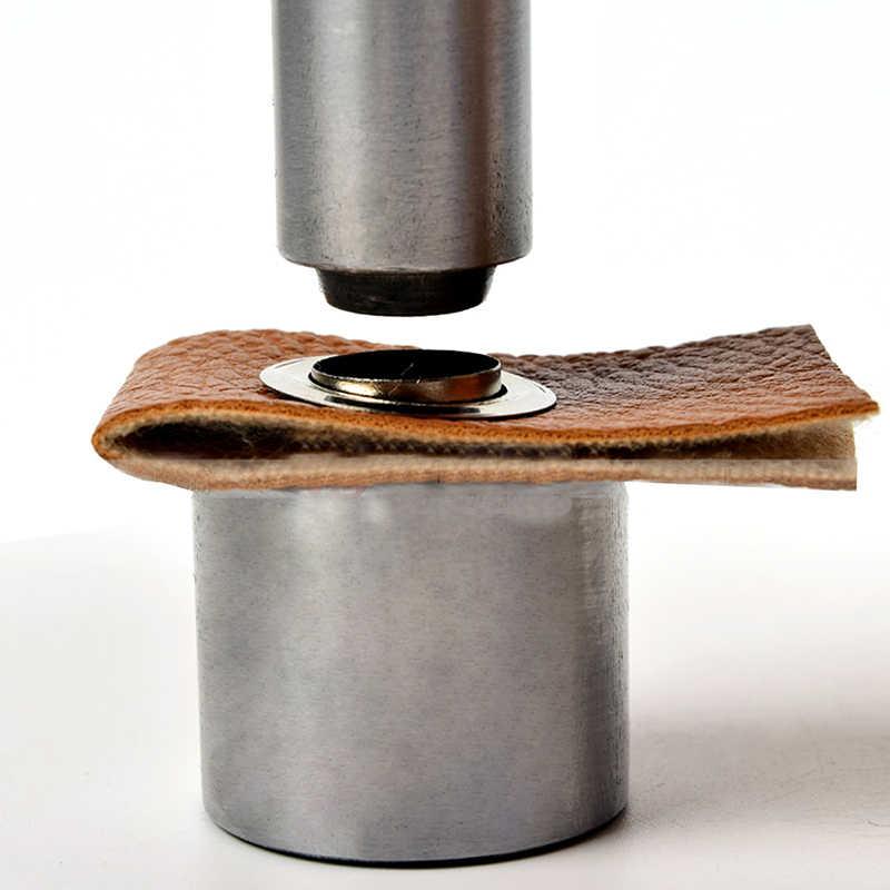 Afiş-3.5-17mm delme kalıp aracı seti deri el sanatları için giyim Grommet