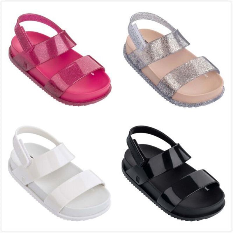 Melissa 2018 New Children Shoes Sandals For Girls Casual Sandals Wear-resistant Children Melissa Beach Sandals сумка melissa melissa me485bwdqbl0