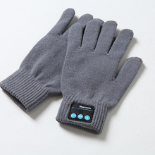 все цены на Useful Knit Autumn Winter Gloves Gloves Outdoor Built-in Speaker/Microphone Bluetooth Windproof Warm For Cellphone