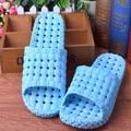 Casa de verano Zapatillas de Baño Pvc Casa Zapatillas de Interior Para Mujeres Inicio Zapatos Chinelos Inyección Baño Sapato masculino Feminino