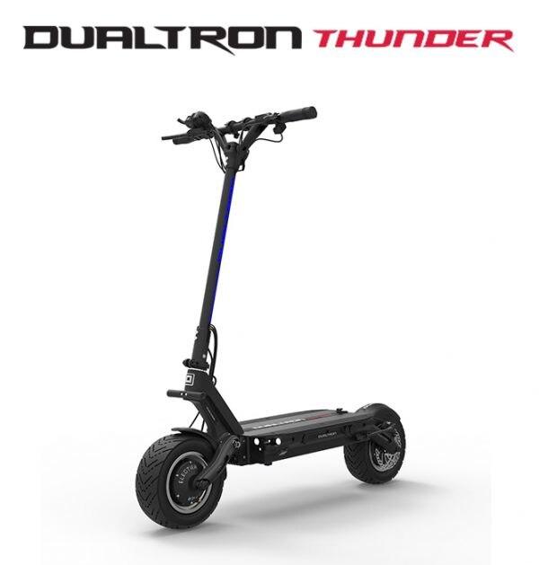 2018 Corée Conception Plus Puissant Dualtron tonnerre Électrique Scooter 2072Wh