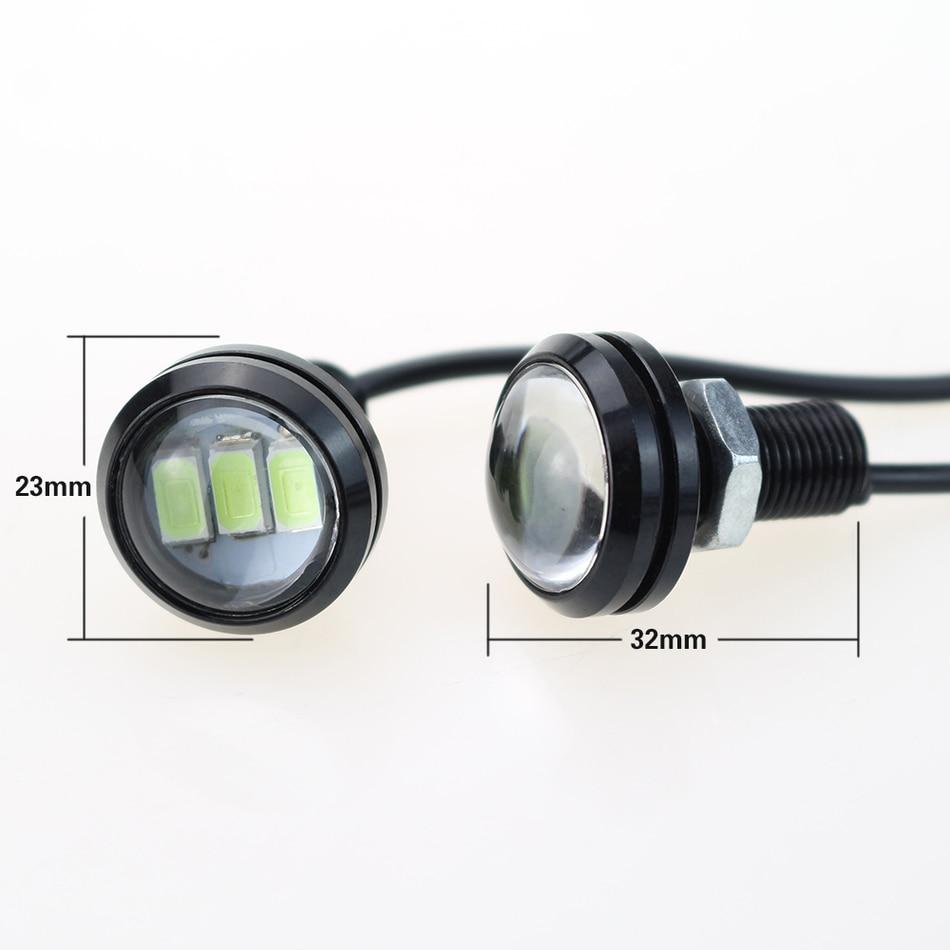 LEADTOPS 10Pcs / Lot Gəliş 10W 12V 5730 LED Qartal Göz 3 SMD LED - Avtomobil işıqları - Fotoqrafiya 3