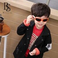 2017 New KidsTR90 Polarized Glaeees Children Sports Super Relastie UV400 Sunglasses Boy Girls Cute Cool Glasses