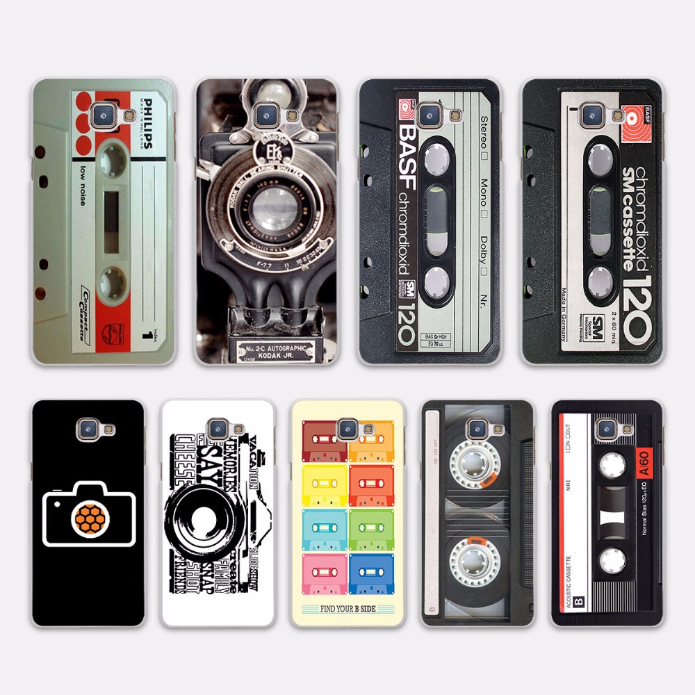 magnetic tape cassette audio tape design hard white case. Black Bedroom Furniture Sets. Home Design Ideas
