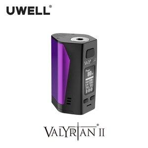Image 5 - UWELL Valyrian II MOD Triple 18650 แบตเตอรี่ 300W อิเล็กทรอนิกส์บุหรี่ VAPE MOD ไม่มีแบตเตอรี่