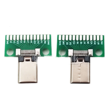 Male Type c Test  PCB board Universal board with USB 3.1 Port 20.6*10MM Test board