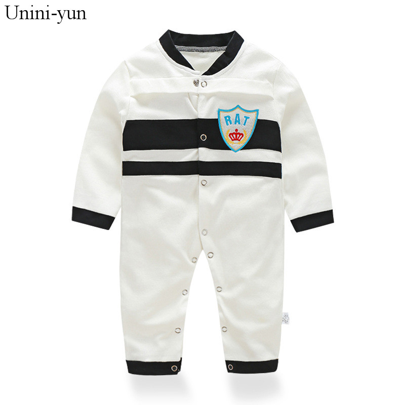2017 newborn baby boy autumn spring clothes100% Cotton Long Sleeve Baby Rompers Soft Infant Baby girl Clothing Set Jumpsuits 9 12m baby boy set monkey print clothes for children newborn baby boy clothing corduroy 2017 autumn clothes 2pcs boy outwears