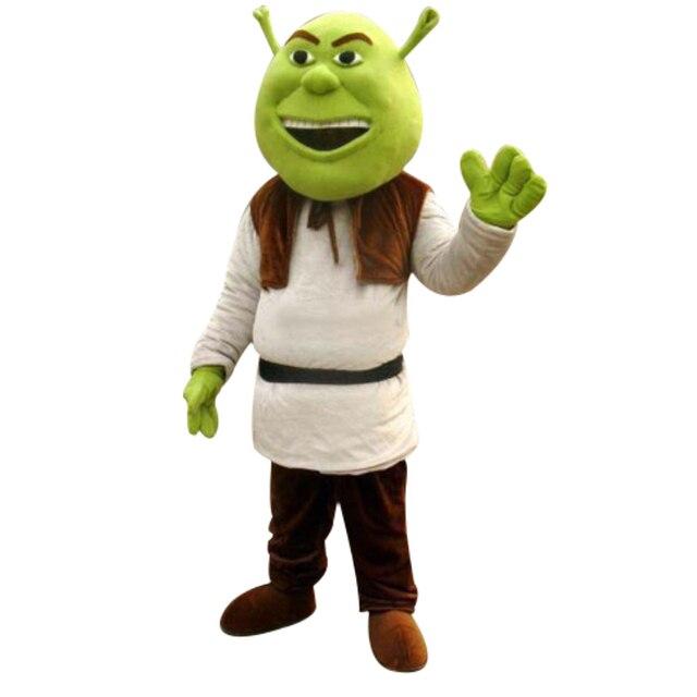 Nuevo disfraz de mascota Shrek para adultos para Halloween! Envío ...