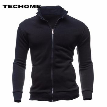 Cardigan High Collar Brand Male Hoody