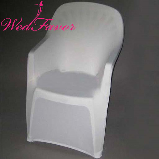 Exceptionnel 50pcs White Lycra Spandex Arm Chair Covers Banquet Stretch Chair Cover With  Arms For Hotel Event