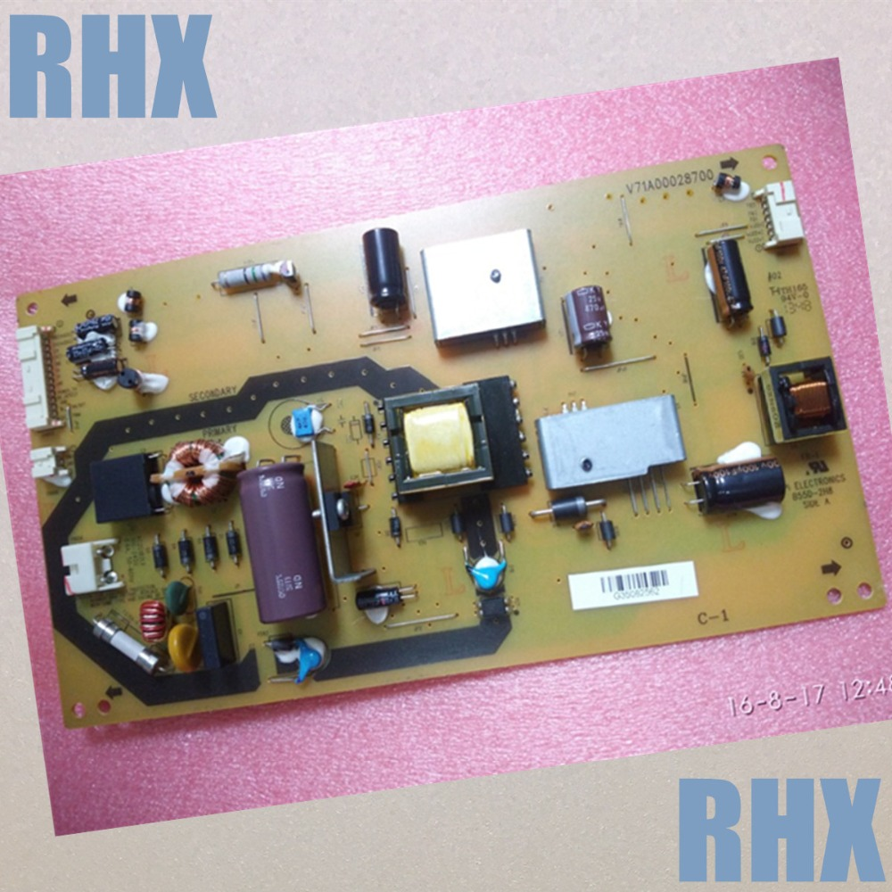 32P1300VE power panel V71A00028700 B55D-2H8 is used 42pfl9509 power panel 2300kpg109a f is used