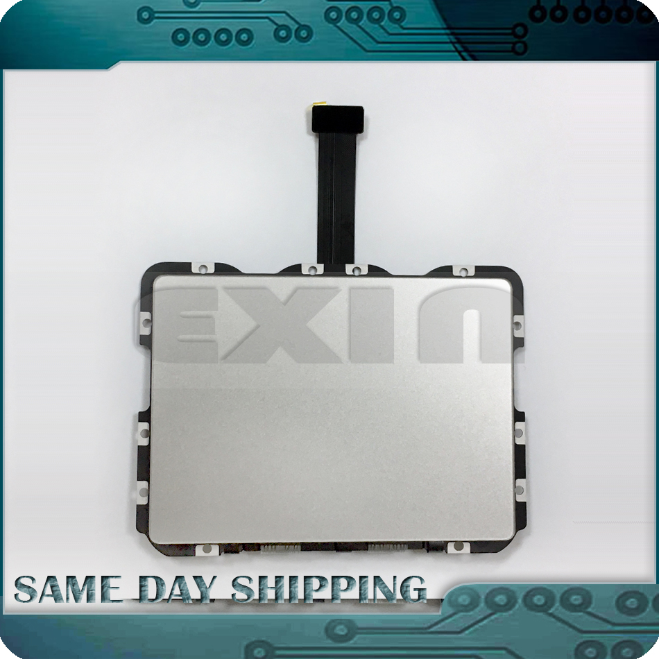 New for MacBook Pro Retina 13.3 A1502 Trackpad Touchpad w/ Ribbon Flex Cable 821-00184-A Early 2015 MF839 MF841 new laptop battery for macbook pro 13 a1582 a1502 mf839 mf841 mf843 retina early 2015