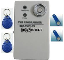 Estable y sensitiy TM1990 TM1990B de mano duplicadora RW1990 ibutton TM 125 Khz EM4305 T5577 EM4100 rfid copiadora