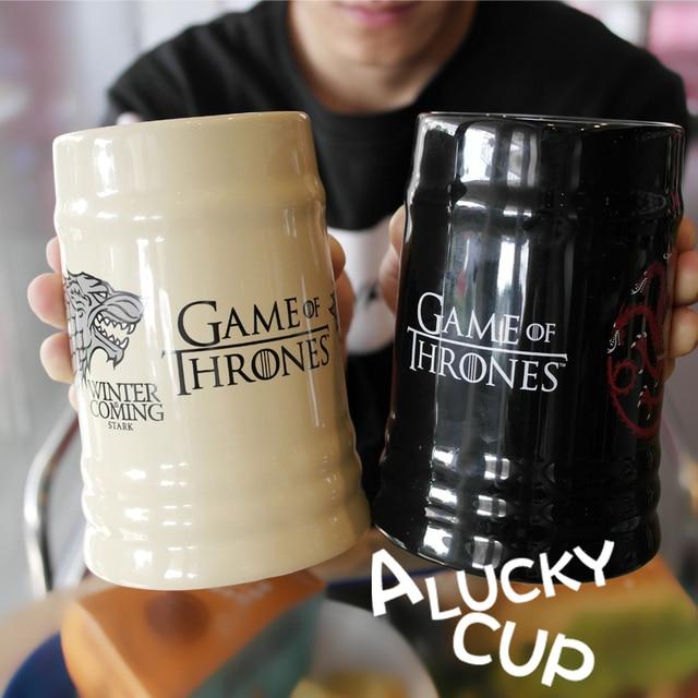Game Of Thrones Dragon Coffee Mug Wolf Cup Milk Cups And Mugs