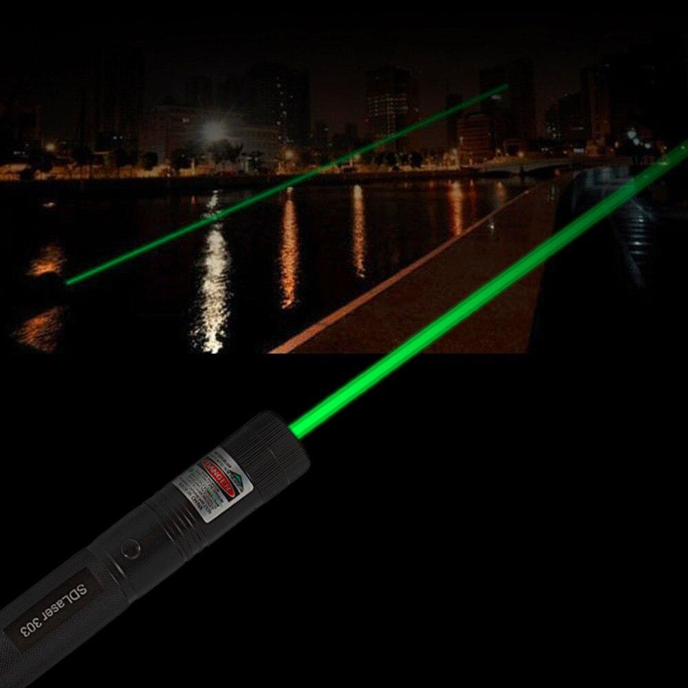 1 pz 1 mw 532nm Penna Verde del Laser Puntatore Laser Potente Luce Remote Presenter Lazer Caccia Bore Sighter del Laser Senza batteria