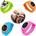 1 unid smart watch reloj niños niños pulsera de seguimiento de posicionamiento inteligente remoto doble h4 hablar reloj de los niños relojes de regalo