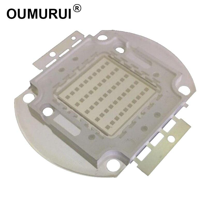 10 w/20 w/30 w/50 w/100 w UV365nm haute puissance LED lampe violet projecteurs 365-370nm 45mil Livraison gratuite