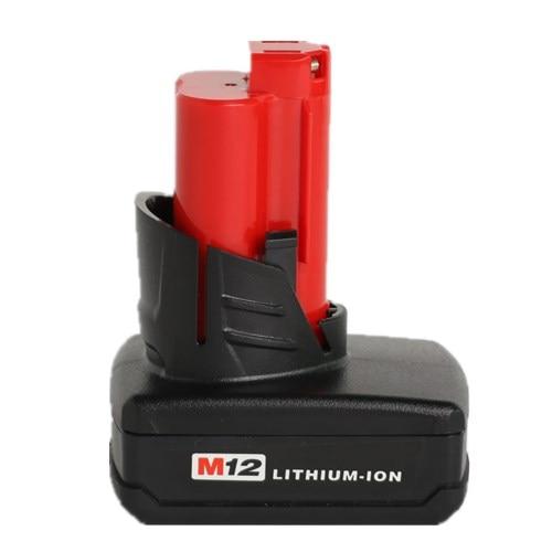Mil 12D 3000mAh,Li-ion,48-11-2401 48-11-2402 C12B C12BX M12 C12PD C12PPC C12WS M12IR M12JS 2207-20 2290-21 2310-21 2312-21