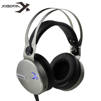XIBERIA KO Gaming Headphones With Microphone Led Light Best Stereo Headset Gamer For Computer Game Fones