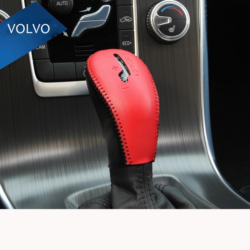 Zračna brzina Prava koža Automobilska konzola Gear Shift ukrasni - Dodaci za unutrašnjost automobila - Foto 3