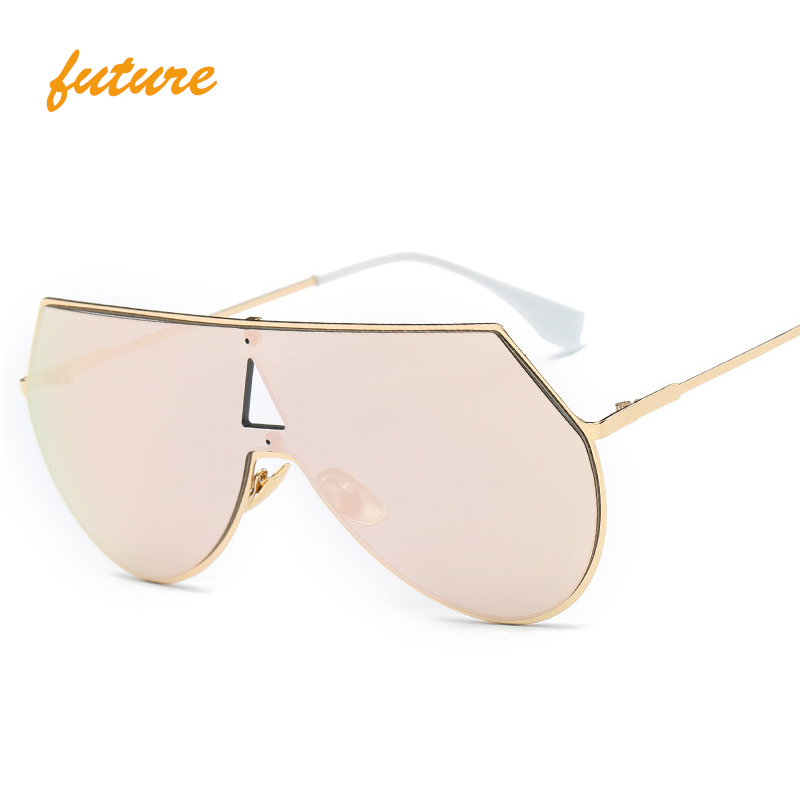 Cool Fashion Steampunk Solbriller Menn Celebrity Sun Glasses Gull Sølv Hallow Hip Hop Goggles Eye Protective Oculos