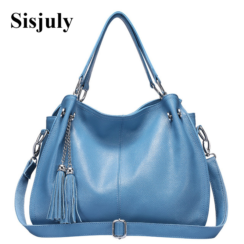 2017 New Genuine Leather Bag Women Handbags Tassel Crossbody Bags For Women Shoulder Bag Female Casual Tote Famous Brands Sac new genuine leather bags for women famous brand boston messenger bags handbags tassel tote hand bag woman shoulder big bag bolso