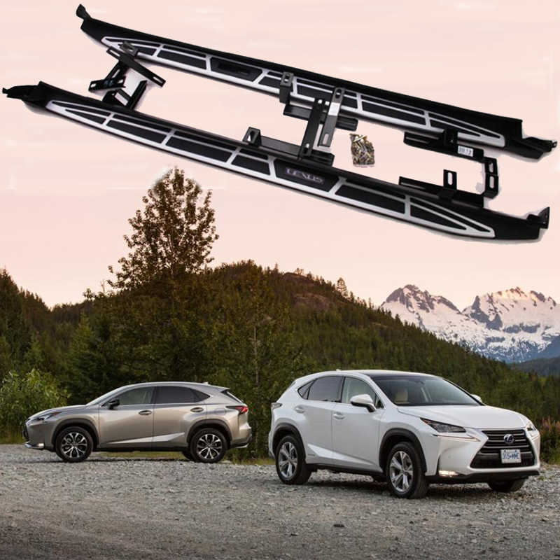 For Lexus NX200 NX300h NX200t 2015.2016.2017 Car Running Boards Auto Side Step Bar Pedals High Quality European Style Nerf Bars