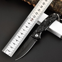 Tactical 55HRC High Hardness 5CR13 Blade Steel Handle Folding Knife Camping Hunting Survival Outdoor Tools