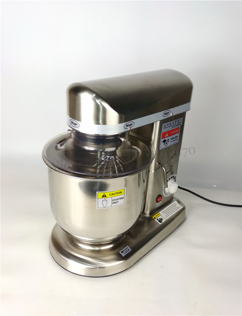10L 220V 240V Household Commercial Dough Kneading Mixer Egg Beater Commercial Kitchen Aid Mixer on waring commercial mixer, commercial kitchen mixer, univex commercial mixer, globe commercial mixer, viking commercial mixer, general electric commercial mixer, wolfgang puck commercial mixer, smallest commercial mixer, cake stores commercial mixer, axis commercial mixer,