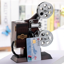 Hot sale creative projector music box jewelry box classical style music box home ornaments wholesale